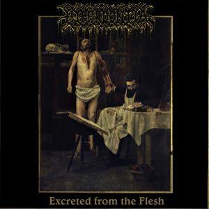 "HYPERDONTIA – Excreted From The Flesh 7'' 7"" Vinyl Records"