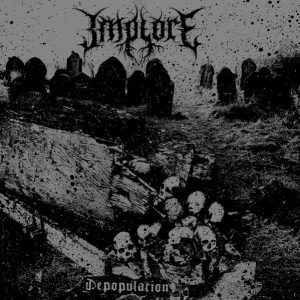 IMPLORE – Depopulation LP (2nd Hand) 2nd Hand Vinyl LP