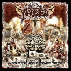 NAUSEA – World Struggle: Demos '88-'92 CD CDs