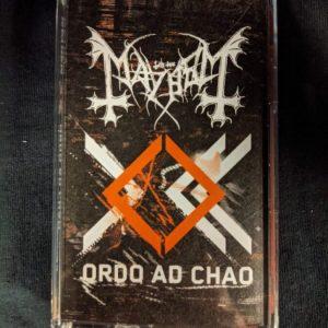MAYHEM – Ordo Ad Chao MC Tapes