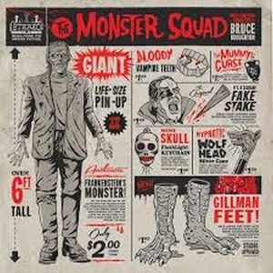 BRUCE BROUGHTON – The Monster Squad OST LP (2nd hand) 2nd Hand Vinyl LP