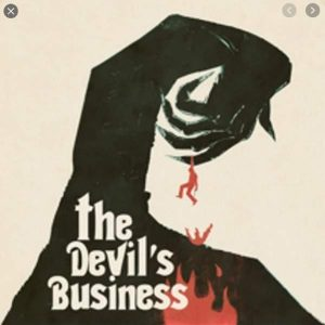 JUSTIN GREAVES – The Devil's Business OST 12″ (2nd hand) 2nd Hand Vinyl LP