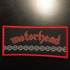 MOTORHEAD – Chains Patch Patches