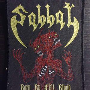 SABBAT – Born By Evil Blood Patch Patches