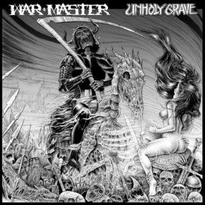 "WAR MASTER / UNHOLY GRAVE – split LP 12"" Vinyl Records"