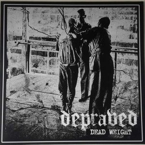 "DEPRAVED – Dead Weight LP 12"" Vinyl Records"
