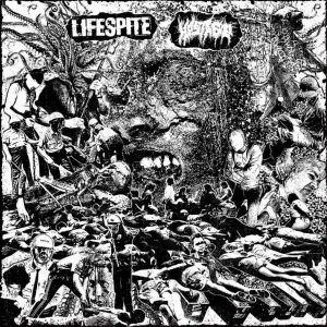 "LIFESPITE / HOSTAGE – split LP 12"" Vinyl Records"