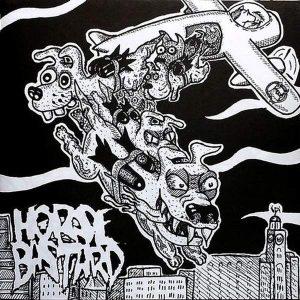 "RAGEOUS INTENT / HORSE BASTARD – split 7″ 7"" Vinyl Records"
