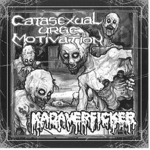 "CATASEXUAL URGE MOTIVATION  /  KADAVERFICKER – split 7″ 7"" Vinyl Records"