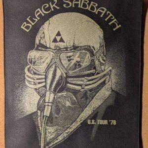 BLACK SABBATH – 1978 Tour Back Patch Back Patches