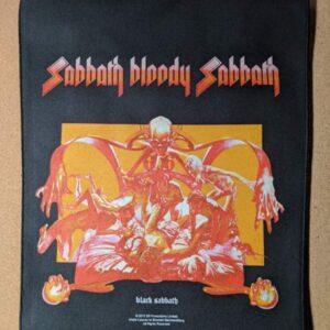 BLACK SABBATH – Sabbath Bloody Sabbath Back Patch Back Patches