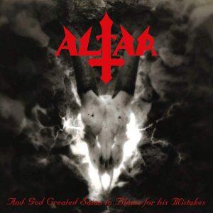 """ALTAR – And God Created Satan… LP 12"""" Vinyl Records"""