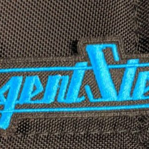 AGENT STEEL – Logo Patch Patches