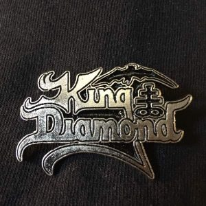 KING DIAMOND Logo Enamel Pin Pins & Enamel Pins