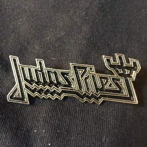 JUDAS PRIEST Logo Enamel Pin Pins & Enamel Pins