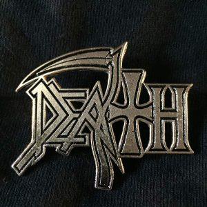 DEATH Logo Enamel Pin Pins & Enamel Pins