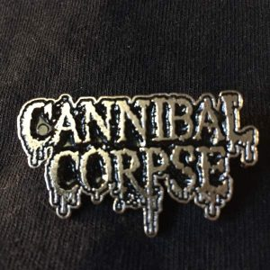 CANNIBAL CORPSE Logo Enamel Pin Pins & Enamel Pins