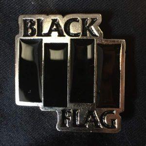 BLACK FLAG Logo Enamel Pin Pins & Enamel Pins