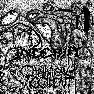 "CANNIBAL ACCIDENT / INFERIA – split 7″ 7"" Vinyl Records"