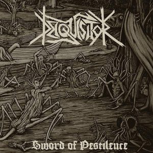 "DEIQUISITOR – Sword Of Pestilence 7″ 7"" Vinyl Records"