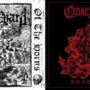 """GRAVEYARD  /  CRUCIFYRE – split 7″ 7"""" Vinyl Records"""