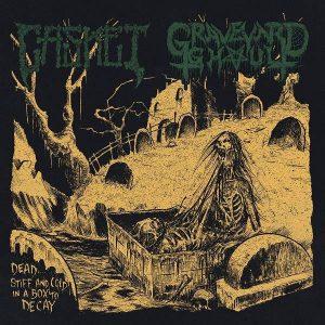 "CASKET  /  GRAVEYARD GHOUL – split 7″ 7"" Vinyl Records"