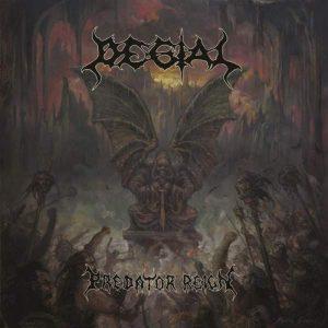 "DEGIAL – Predator Reign LP 12"" Vinyl Records"