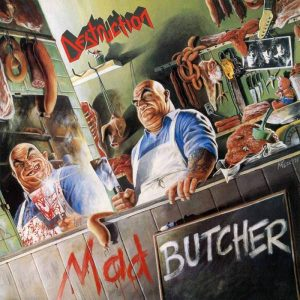 "DESTRUCTION – Mad Butcher 12″ EP 12"" Vinyl Records"