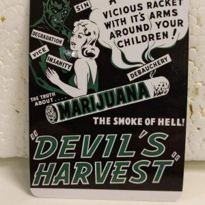 Devil's Harvest Magnet Magnets