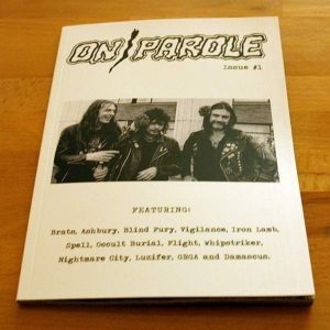 On Parole #1 Zine Zines