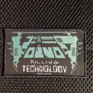 VOIVOD – Killing Technology Patch Patches