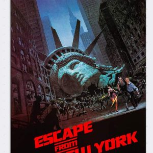 Escape From New York Magnet Magnets