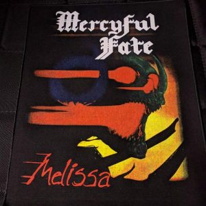 MERCYFUL FATE – Melissa Back Patch Back Patches