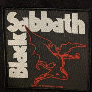 BLACK SABBATH – Devil Patch Patches