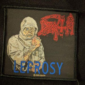 DEATH – Leprosy Patch Patches