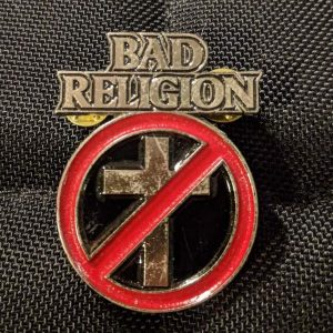 BAD RELIGION – Logo Enamel Pin Pins & Enamel Pins