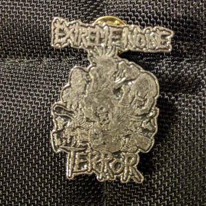 EXTREME NOISE TERROR – In It For Life Enamel Pin Pins & Enamel Pins