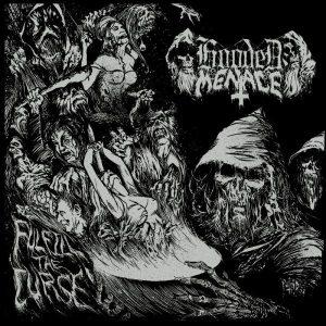 "HOODED MENACE – Fulfill The Curse 2LP 12"" Vinyl Records"