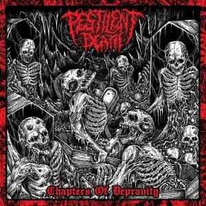 "PESTILENT DEATH – Chapters Of Depravity LP 12"" Vinyl Records"