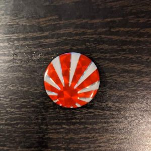 Japan – Vintage Button Pin Pins & Enamel Pins