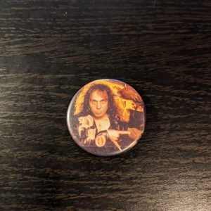 DIO – Vintage Button Pin Pins & Enamel Pins