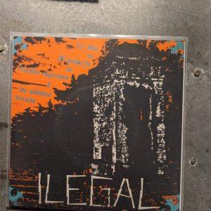 ILEGAL – La Vida Es El Producto… 7″ (2nd Hand) 2nd Hand Vinyl EP