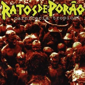 "RATOS DE PORAO – Carniceria Tropical LP 12"" Vinyl Records"