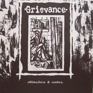 GRIEVANCE / H.R.W. 7″ (2nd Hand) 2nd Hand Vinyl EP