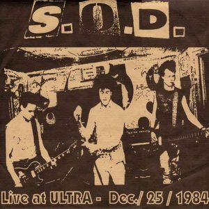 S.O.D. – Sound Of Disaster LP (2nd hand) 2nd Hand Vinyl LP