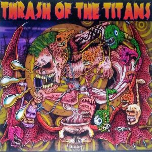 V/A  – Thrash Of The Titans 12″ (2nd hand) 2nd Hand Vinyl LP