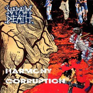 """NAPALM DEATH – Harmony Corruption LP 12"""" Vinyl Records"""