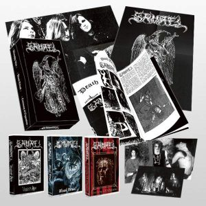 SAMAEL – Collection 3x Tapes and Extras Boxset MC Tapes