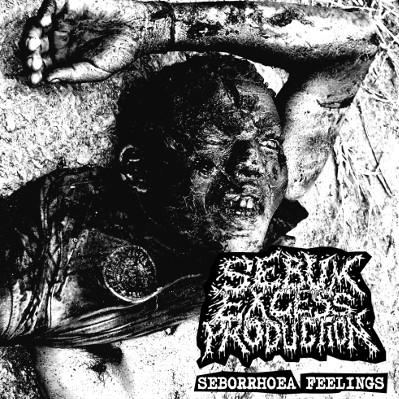 "SEBUM EXCESS PRODUCTION – Seborrhoea Feelings 7"" 7"" Vinyl Records"