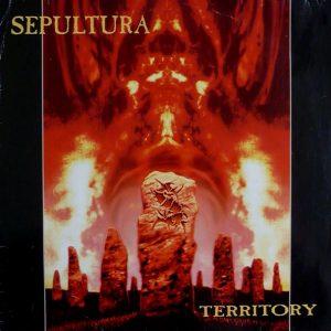 SEPULTURA – Territory 12″ (2nd hand) 2nd Hand Vinyl LP